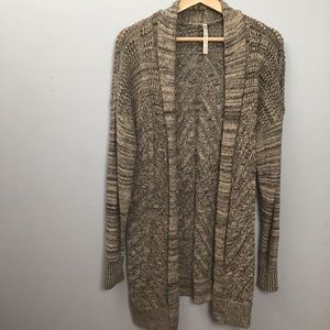 Open Front Cardigan Leo & Nicole Size XL
